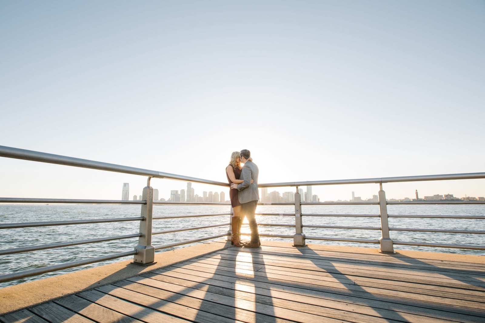Manhattan Waterfront Engagement Session