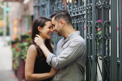 Gramercy Park Engagement Session