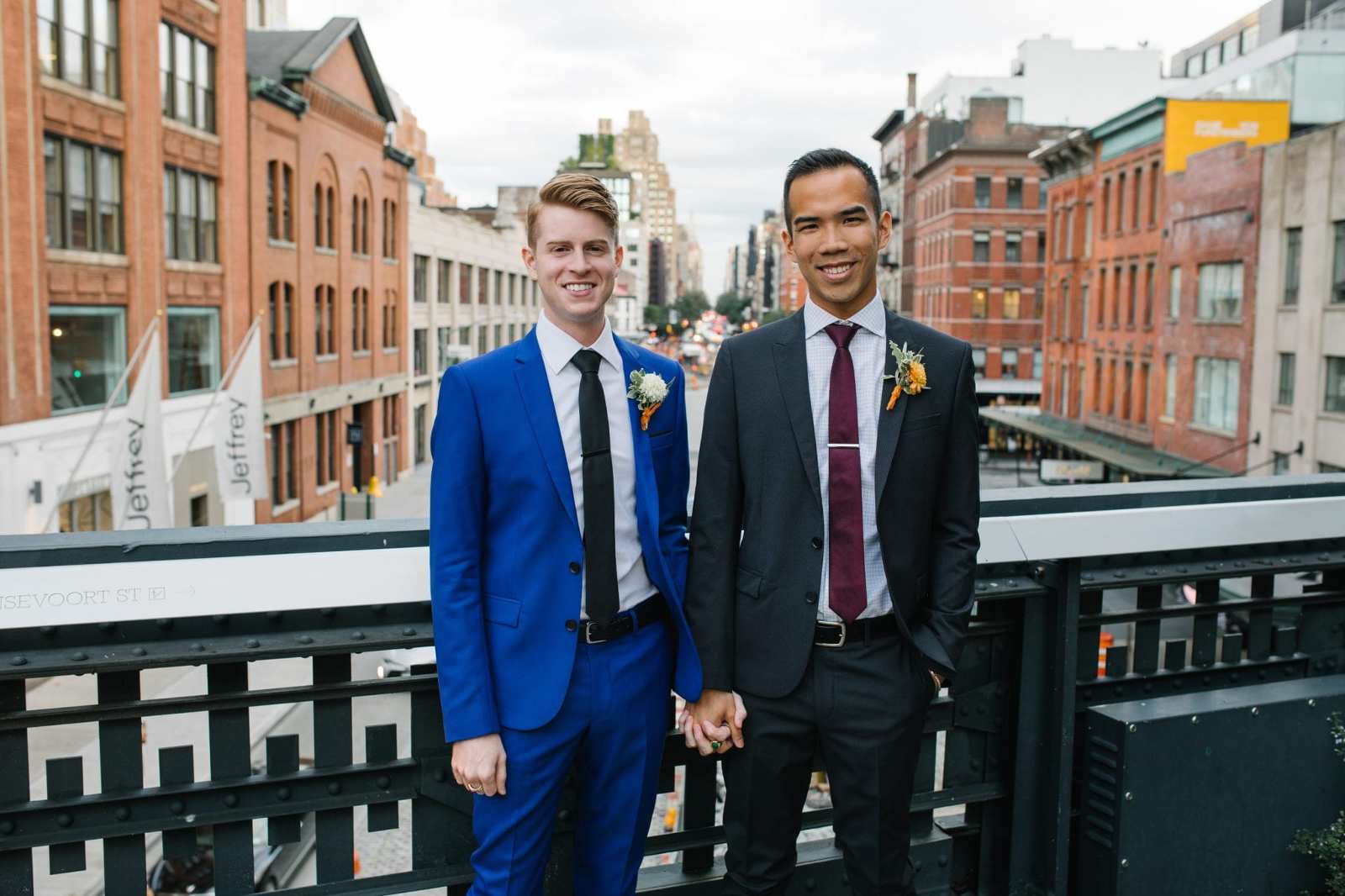 Highline New York Gay Wedding