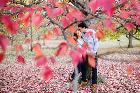 Prospect Park Engagement Session