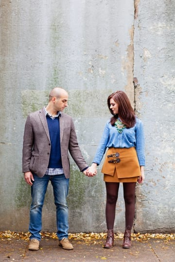 Forest Hills Queens Engagement Session