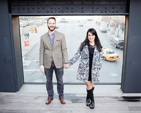 Chelsea Highline Engagement Session