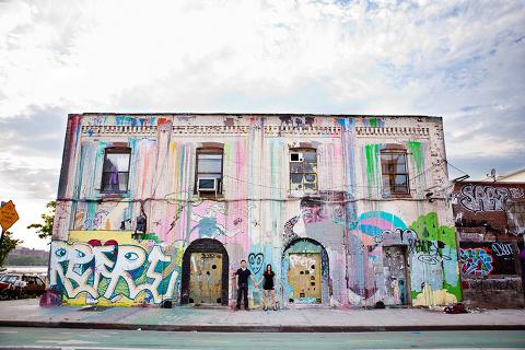Williamsburg Brooklyn Engagement Session