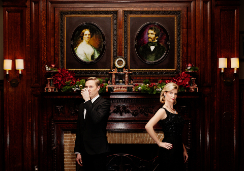 Mad Men New Year's Eve Portrait Session Photographer