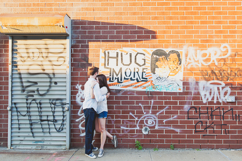 Greenpoint Engagement Session Photographer