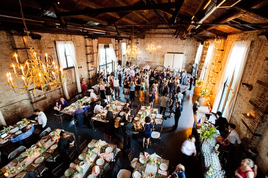 Green Building Brooklyn Wedding Reception