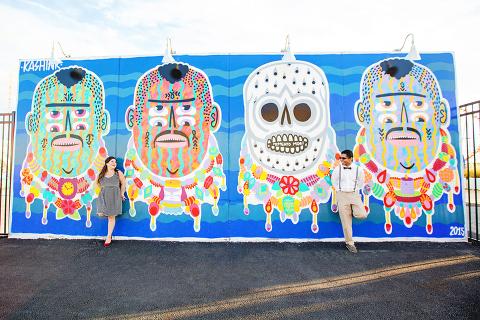 Coney Art Walls Engagement Session