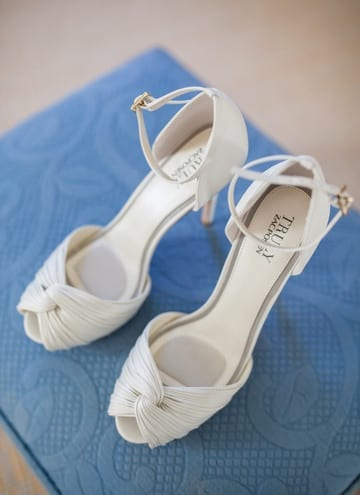 Bride's Shoes at Orchard Hill