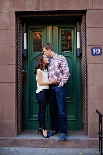 West Village Engagement Photo