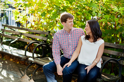 West Village Park Engagement Session