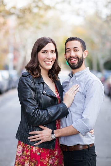 Brooklyn Heights Engagement Photo