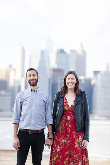 Brooklyn Waterfront Engagement Session