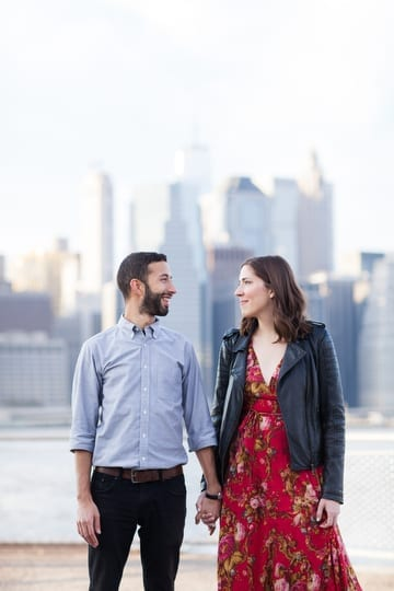 Engagement Shoot Brooklyn Waterfront