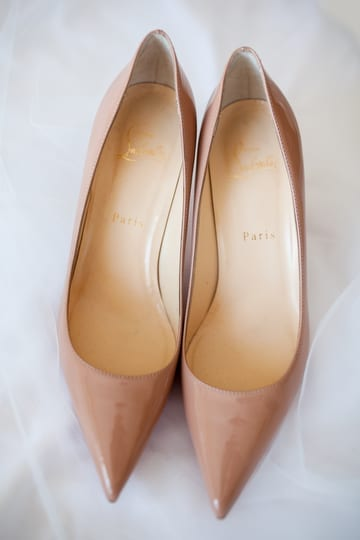 Christian Louboutin Nude Shoes