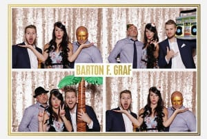 Barton F Graf Holiday Party Photobooth