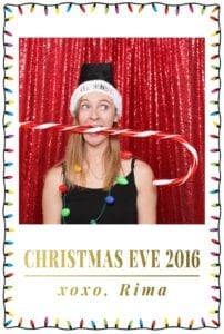 christmas eve photo booth