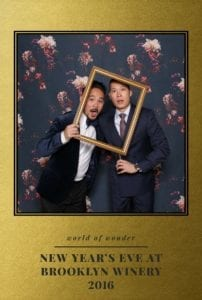 NYE Photo Booth