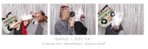 Horizontal Strip Photobooth Design