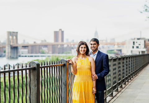 Brooklyn Heights Promenade Engagement