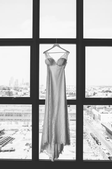 Wedding Dress at Wythe Hotel