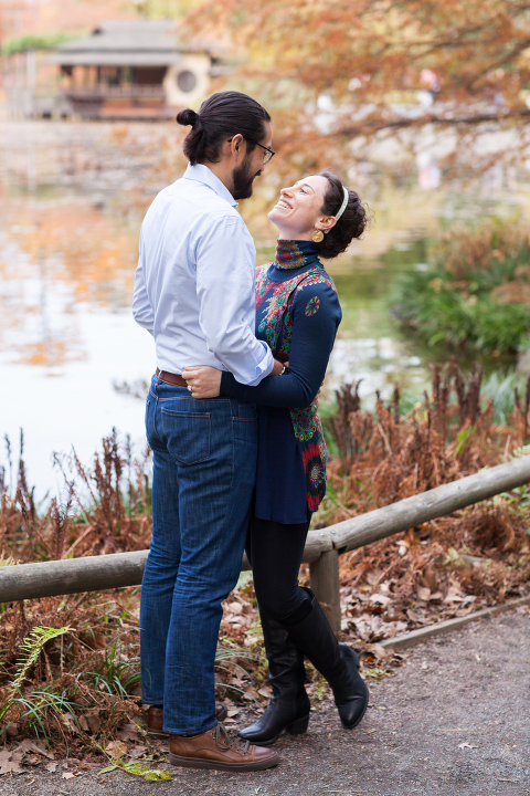 Brooklyn Botanic Garden Engagement Session