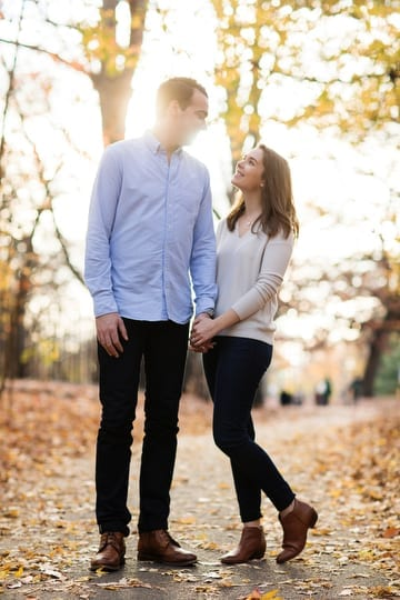 Fall Engagement Session in Prospect Park