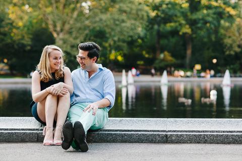 Central Park Engagement Session