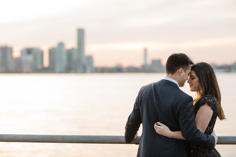 New York Waterfront Engagement Session