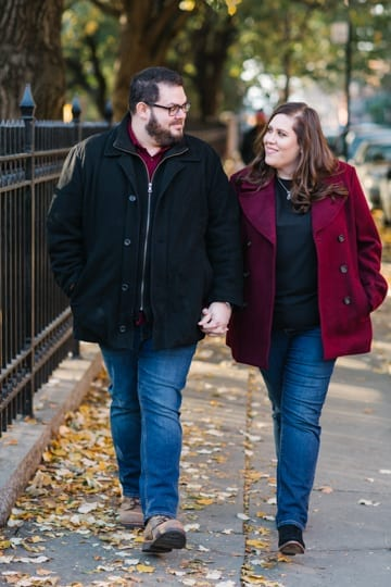 cobble hill park engagement session