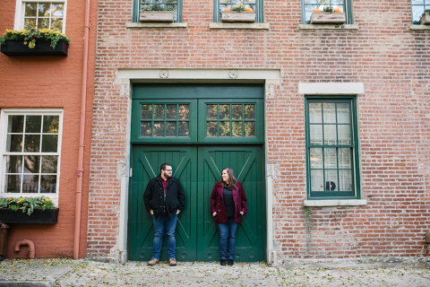 cobble hill engagement photos