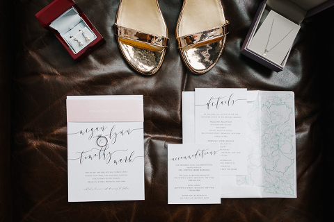bridal details at wythe hotel