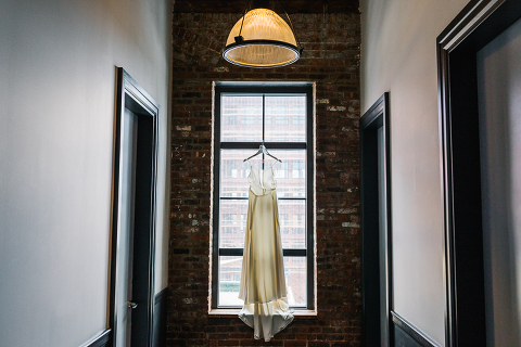 wythe hotel wedding dress photo