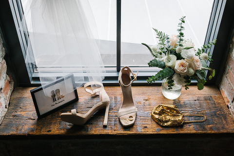 wedding details at the wythe hotel