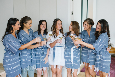 bridal party matching robes