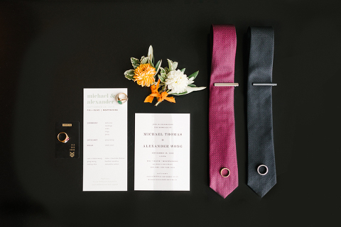wedding details at standard highline hotel