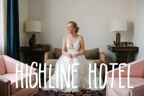Highline Hotel Wedding